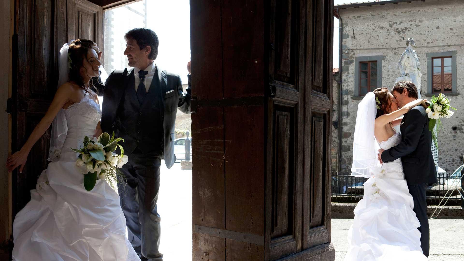 Foto sposi Sara e Francesco