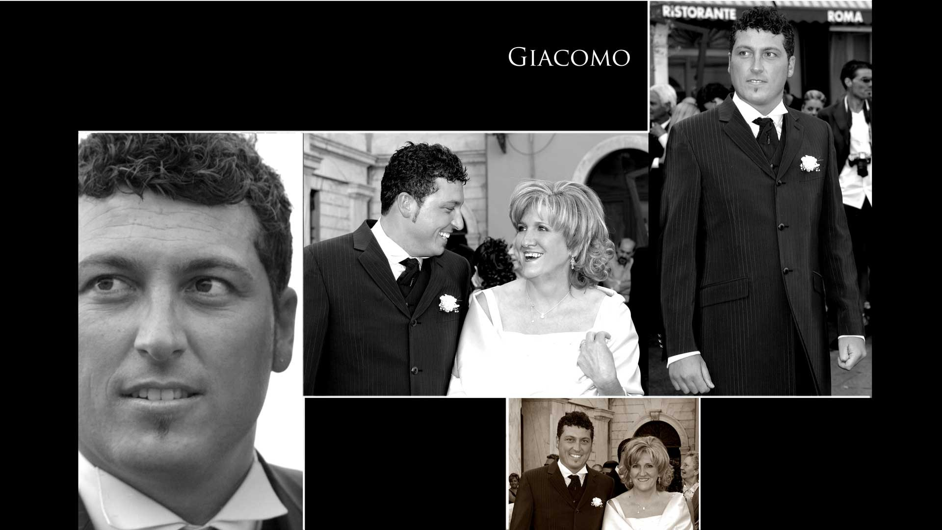 Foto sposi Micaela e Giacomo